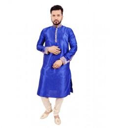 Man-Kurta pajama Blue